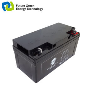 12V 50ah Deep Cycle Rechargeable AGM Sealed Solar Storage Battery pictures & photos
