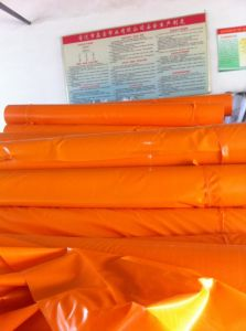 PVC Coated Tarpaulin /Lidded Fabric for Exhibition Hall Roofing