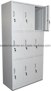 Wholesale 9 Door Metal Steel Iron Clothe Locker pictures & photos