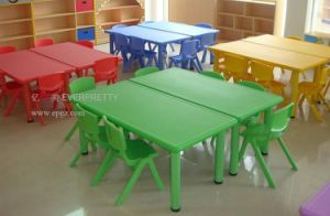 Kids School Furniture Preschool and Kindergarten Furniture Kids Table and Chairs Sf-31k pictures & photos