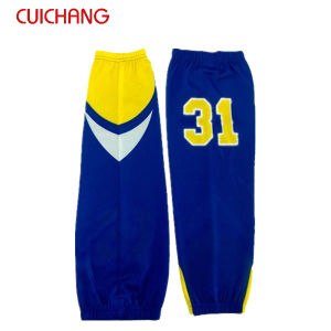 Custom Made Polyester Full Sublimation Ice Hockey Sock pictures & photos