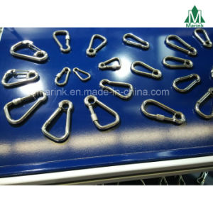 Zinc Plated Snap Hook with Eyelet and Screw Carabiner Bulk pictures & photos