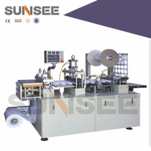 Automic Plastic Blister Packing Machine (battery, oil packing) pictures & photos