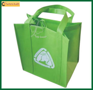 Wholesale Green Printed Non Woven Tote Bags (TP-SP460) pictures & photos