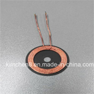 Self-Bonded Enamelled Wire Coil with Ferrite for Wireless Charger pictures & photos