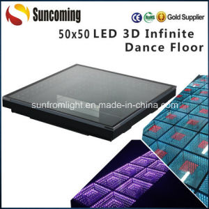 Wedding, Night Club 3D Infinite LED Dance Floor pictures & photos