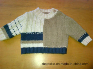 Baby Boy Cable with True Knitted Sweater pictures & photos