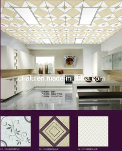 Fireproof Aluminum Metal Ceiling Tile/Panel/Board, 300X300mm, Mirror Surface
