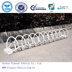 Circle Floor Mounted Bike Rack PV-Bs07 (ISO Approved) pictures & photos