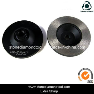 "China High Quality Concrete Diamond Tool Cup 4"" Grinding Disc pictures & photos"
