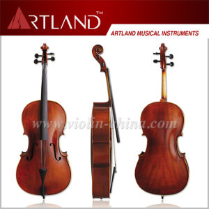 Flamed Cello with Bag and Bow pictures & photos