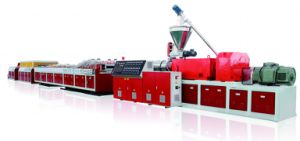 Wood Plastic Door Panel Extruder Machine/Production Line/Extrusion pictures & photos