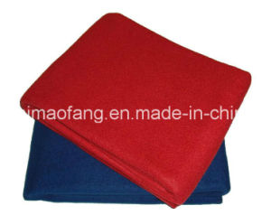 Woven Woolen Fire Retardant/Fireresistant/Fireproof Polyester Blanket pictures & photos