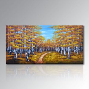 Handmade Modern Wall Decor Art Landscape Oil Painting on Canvas pictures & photos