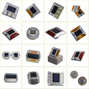 Factory Original High LEDs Solar LED Road Stud Side Light with Sunlight Control pictures & photos