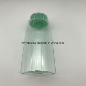 Round and Cream - Colored Pet Plastic Bottle with Screw Cap pictures & photos