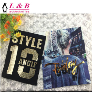 2018 Spring New Design Fashion Digital Printed Applique with Tassels pictures & photos