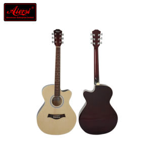 36 Inch Small Body Cutway Colour Acoustic Guitar Sg026c pictures & photos