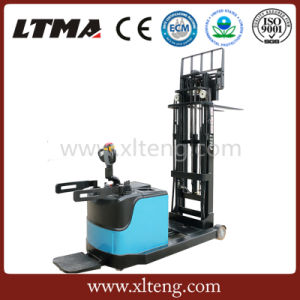 1.2 Ton Mini Electric Forklift Stacker for Cold Storage Use pictures & photos