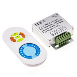 CCT Color-Temp Adjustable Dimmer Controller with RF Wireless Touch Remote pictures & photos