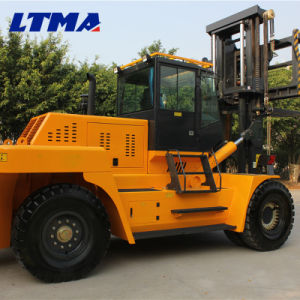 Big Forklift 25 Ton 20 Ton Heavy Duty Diesel Forklift pictures & photos