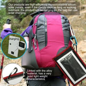 30LED Battery-8000mAh Solar LED Camping Lamp with Dual USB-5V/2A pictures & photos