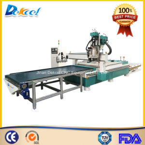 Hsd Boring Head Woodworking Production Line Atc CNC Drilling Cutting Router Machine pictures & photos