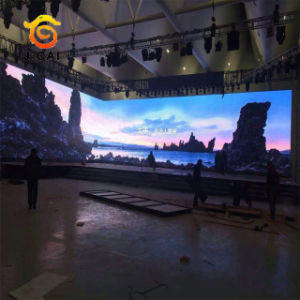 Wholesale 5mm Indoor Advertising Flexible LED Display Screen Price pictures & photos