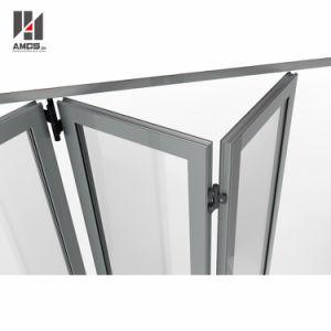Customzied High Quality Double Glazing Aluminum Exterior Folding Doors pictures & photos