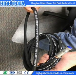 CE/SGS Certificated Flexible Hydraulic Hose SAE R17 pictures & photos