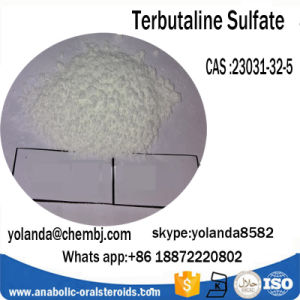 Factory Supply Pharmaceuticals Terbutaline Sulfate CAS 23031-32-5 for Bronchodilator pictures & photos