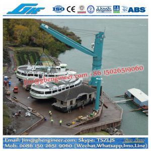 Liebherr Model FCC 320 Fixed Cargo Crane Multi Purpose Floating Crane with Grab, Hook, Container Spreader pictures & photos