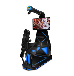 High Profit High Quality 9d Vr Gatling Gun Shooting Simulator with HTC Vive Headset pictures & photos