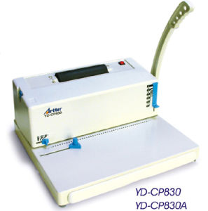 Coil Binding Machine (YD-CP830) pictures & photos