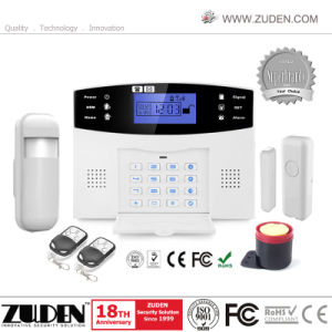 Wireless Home Burglar Intruder Security Alarm with LCD pictures & photos