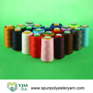195g Spool Polyester Sewing Thread (50s/2) pictures & photos
