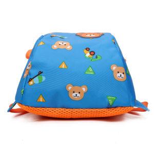 New Design Cartoon Blue Children 600d Polyester Smiggle Kids School Bag pictures & photos