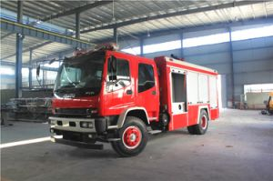 Isuzu 4X2 Water and Foam Tanker Fire Fighting Truck pictures & photos