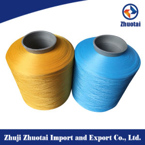 Knitting Color Yarn Dope Dyed Polyester Yarn for Socks Weaving pictures & photos