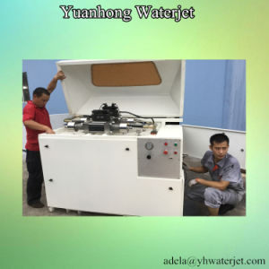 Waterjet Cutting Machine with Double Intensifier Pump pictures & photos