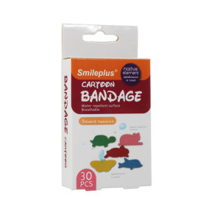 Animal Shape Cartoon PE First Aid Bandage for Kid′s Care pictures & photos