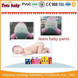 Non-Woven Surface Grade a Disposable Private Label Quality Pampering Baby Diaper Manufacturers in China pictures & photos