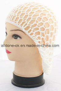 Work Cap Hair Accessories Crochet Hair Snood Jewelry Sleeping Hat pictures & photos