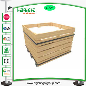 Wooden Vegetables Fruit Display Shelf Used pictures & photos