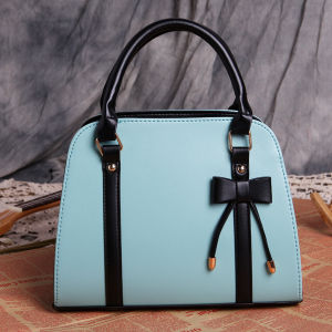 2017 Summer Korean Style Bow Handbag Ladies Shoulder Diagonal Package Handbags pictures & photos
