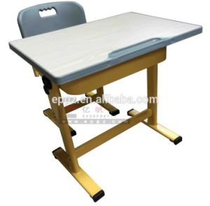 School Furniture Manufacture/Classroom Desk and Chair Set in Dubai (SF-32F6) pictures & photos