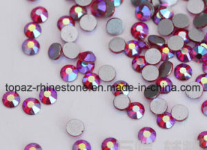 Ss20/5mm Siam Ab Glue on Rhinestones Foil Back Rhinestone (FB-ss20 siam ab) pictures & photos