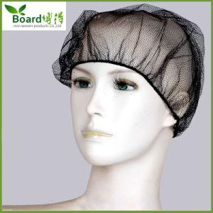 Nylon Hair Net with Black Color. Nylon Hair Net Cap pictures & photos