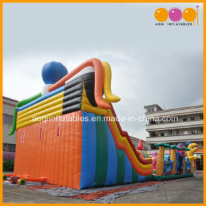 Undersea Animal Inflatable Bouncy Playground with Slide (AQ13200) pictures & photos