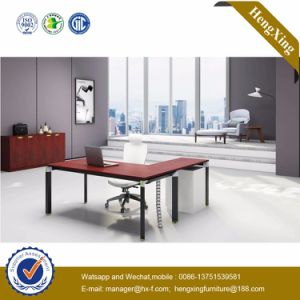 Wooden Top Office Furniture Cluster Manager Office Desk (HX-NJ5011) pictures & photos